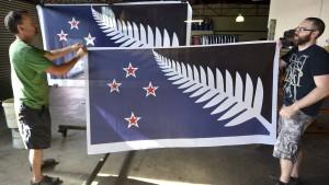 """Entscheidet sich Neuseeland für die """"Fischgrätenflagge""""?"""