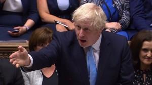 Nächste Pleite für Johnson – laute Proteste gegen Pause