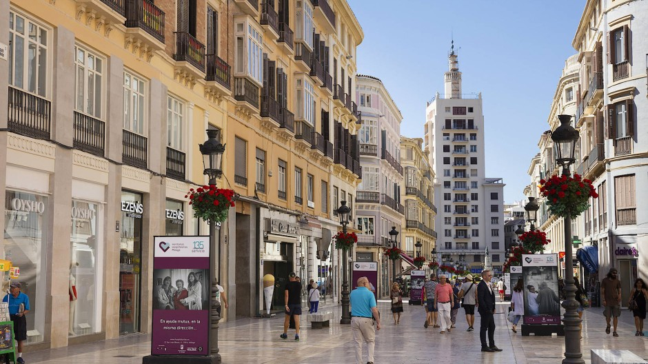 Die beiden Männer wurden am Dienstag in Málaga gefasst.