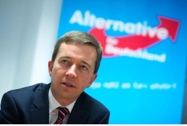Der AfD-Vorsitzende Bernd Lucke