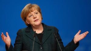 """Merkel wirft SPD """"Bankrotterklärung"""" vor"""