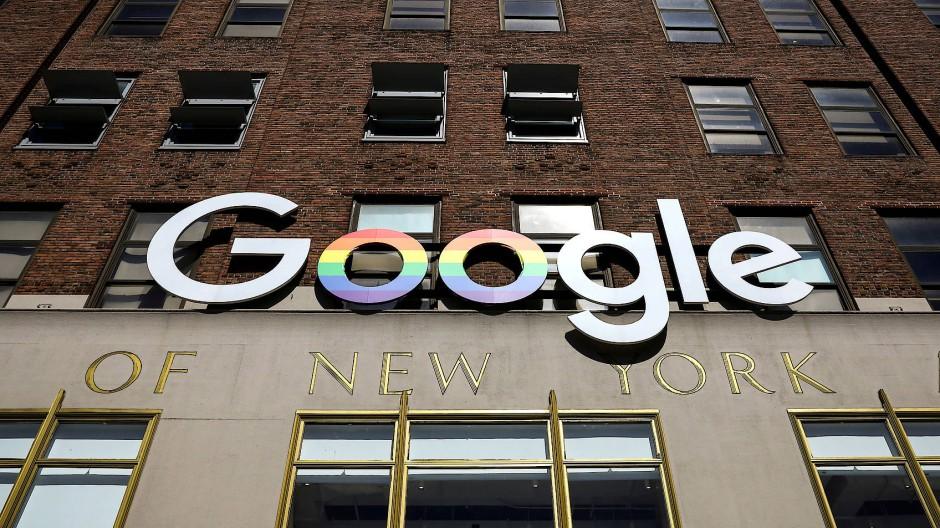 Im Visier der Kartellämter: der amerikanische Tech-Gigant Google