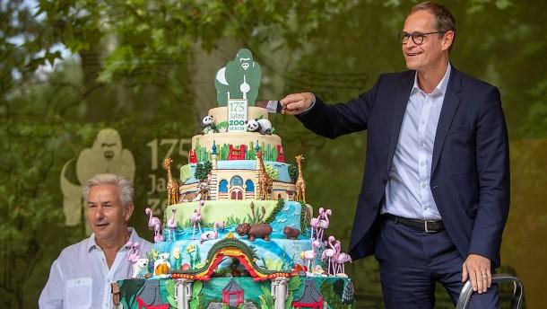 Berliner Zoo wird 175 Jahre alt