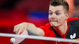 Schmidberger gewinnt Silber im Tischtennis