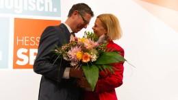 Faeser zur neuen hessischen SPD-Vorsitzenden gewählt