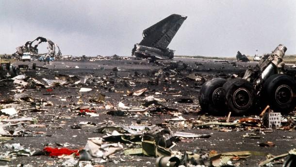 Jumbo-Crash im Ferienparadies
