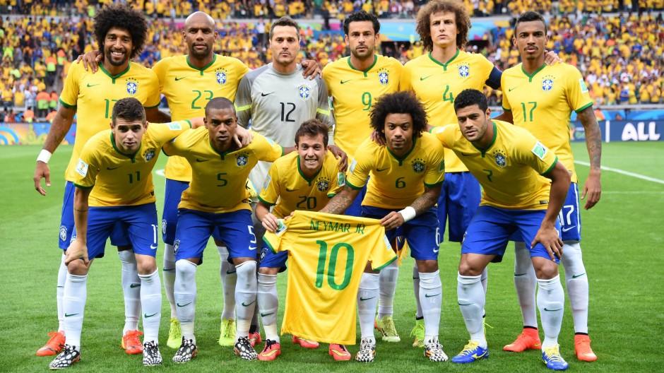 Wm Halbfinale Deutschland Demutigt Brasilien Mit 7 1
