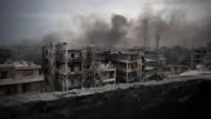Ringen um Waffenruhe in Aleppo