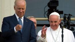 Papst gratuliert Joe Biden am Telefon
