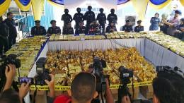Fast 1,2 Tonnen Rauschift beschlagnahmt