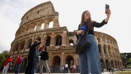 Ein flexibler Fußboden für Roms Kolosseum