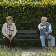 Rentner auf der Parkbank: Für die Riester-Rente sind sie zu alt.