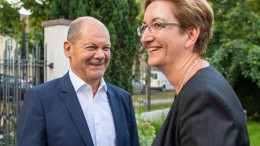 SPD legt nach Scholz-Kandidatur zu