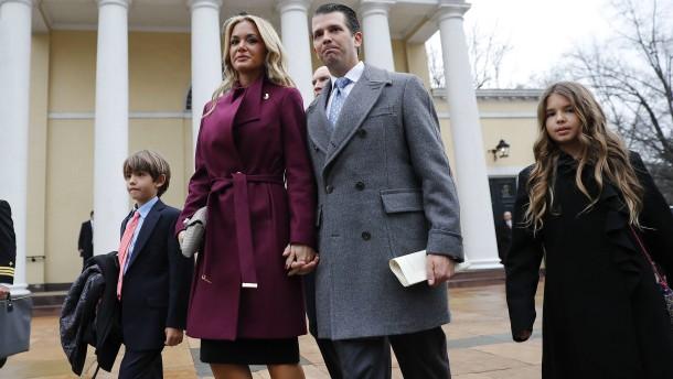 Vanessa Trump reicht Scheidung von Präsidentensohn ein