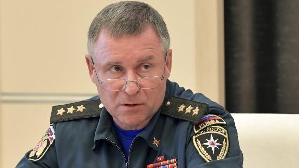 Russischer Minister stirbt bei Übung