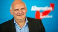 Der bayerische AfD-Landtagsabgeordnete Franz Bergmüller