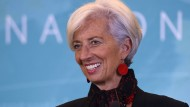 IWF-Chefin Christine Lagarde wird am 1. Januar 60 Jahre alt.