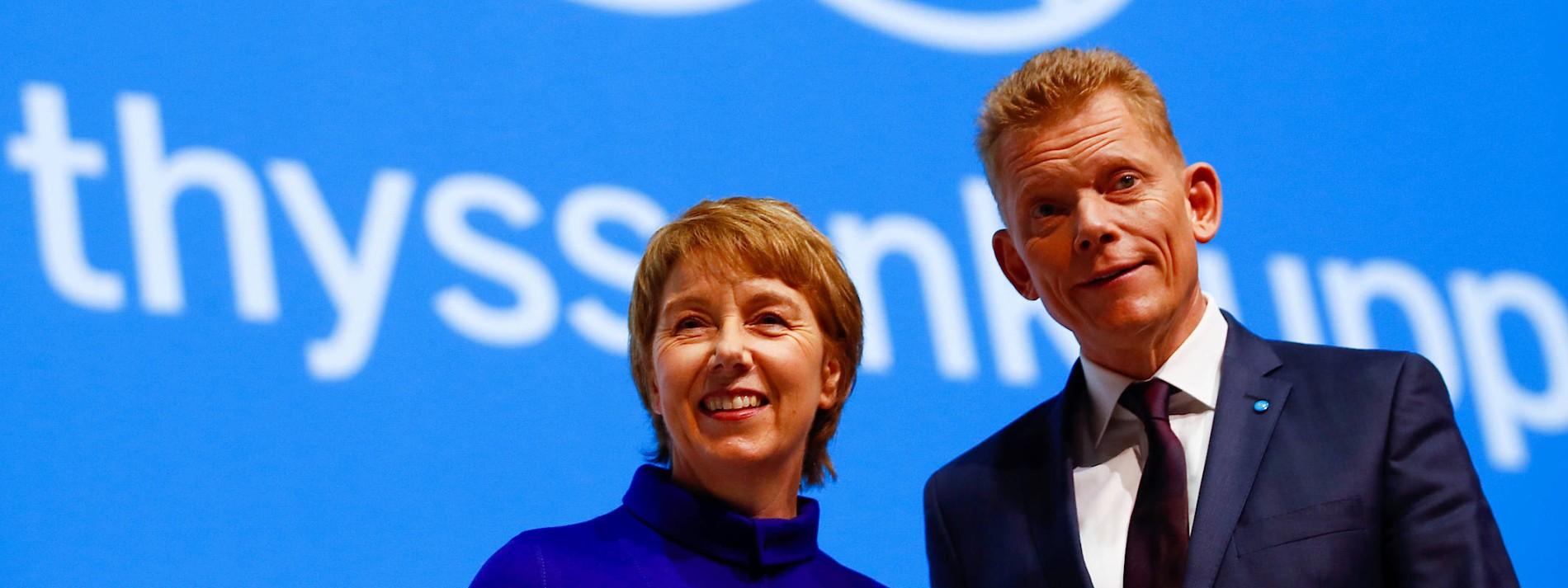Die neue Frau an der Spitze von Thyssen-Krupp