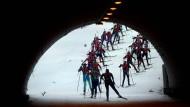 Schon in Ruhpolding hatten die Athleten der IBU einen von 170 Sportlern unterzeichneten Brief übergeben, in dem sie schärfere Doping-Sanktionen fordern.