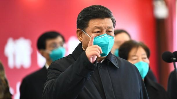 "Xi sieht Coronavirus in Hubei ""im Wesentlichen eingedämmt"""
