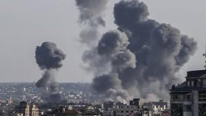 Israel fliegt Luftangriff in Gazastreifen