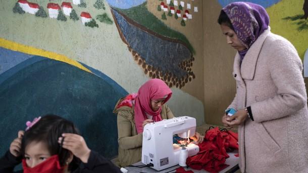 Sorge in syrischen Flüchtlingslagern