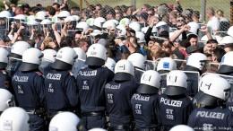Österreichs Polizei probt Grenzschutz
