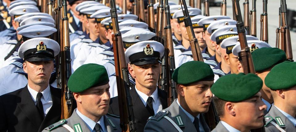 Bundeswehr-Soldaten in Berlin