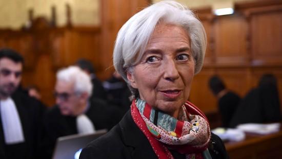 IWF-Chefin Lagarde in Paris vor Gericht