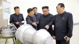 Das passiert, wenn Kim oberirdisch zündet