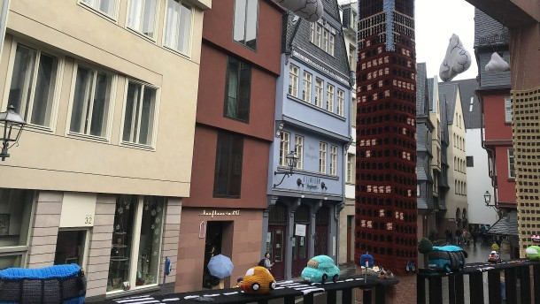 SPD, Strickkunst, Spendenprojekt