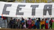 EU und Kanada wollen Handelspakt Ceta am Sonntag unterzeichnen