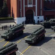 Russische S-400-Flugabwehrraketen in Moskau