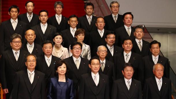 Japans hundertster Ministerpräsident setzt auf die 3-A-Regel