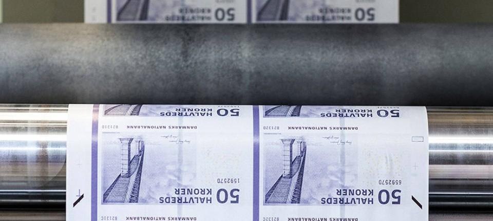 Dänemark Zentralbank Willl Notendruck Stoppen