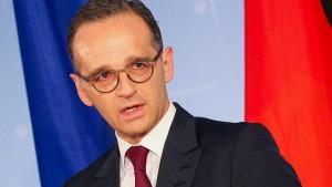 Maas hält weitere EU-Sanktionen gegen Maduro-Regierung für möglich