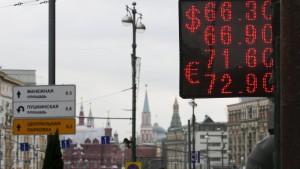 Russlands Rezession bringt viele Gewinner hervor