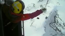 Küstenwache rettet Skifahrer in Schottland