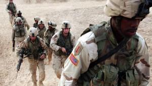 Amerikanische Truppen im Irak in Alarmbereitschaft