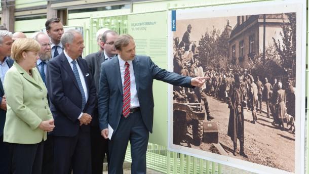 Baubeginn des Dokumentationszentrums