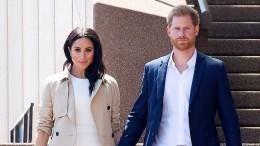 Großer Empfang für Meghan und Harry in Australien