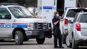 Messerstecher von Calgary des fünffachen Mordes angeklagt