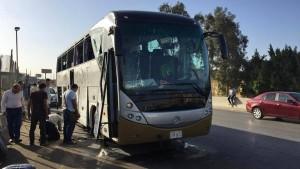 Anschlag auf Touristen-Bus in Ägypten