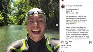 Sohn der Pariser Bürgermeisterin durchschwimmt die Seine