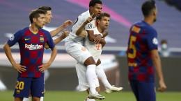 Bayern gewinnt 8:2 gegen Barcelona