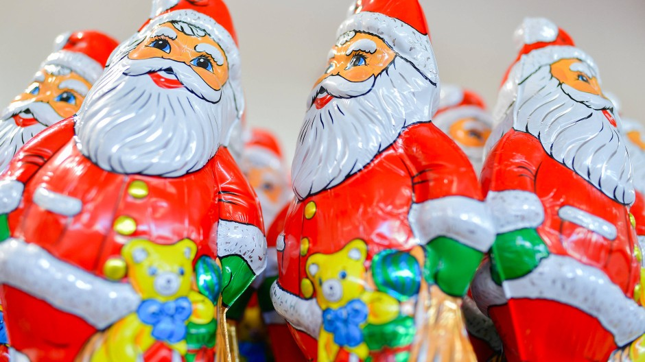 Schoko-Weihnachtsmänner haben es gut: Sie können nichts hören.
