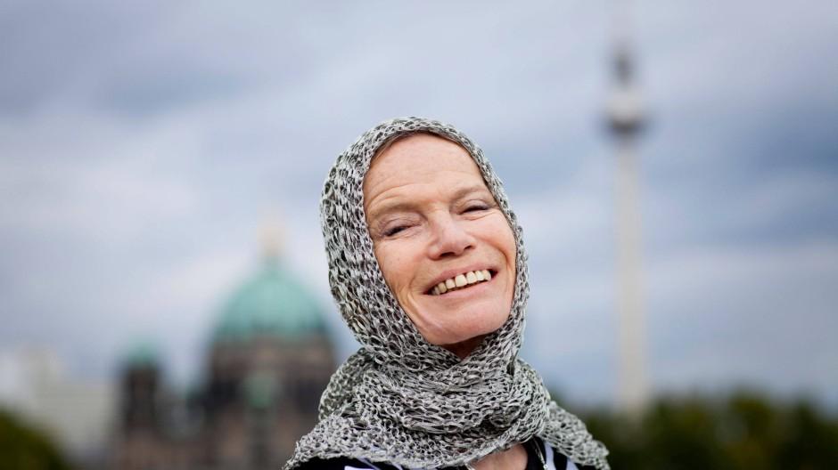 Vera Lehndorf heute, in Berlin
