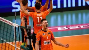Berlin siegt im Showdown um deutsche Volleyball-Meisterschaft