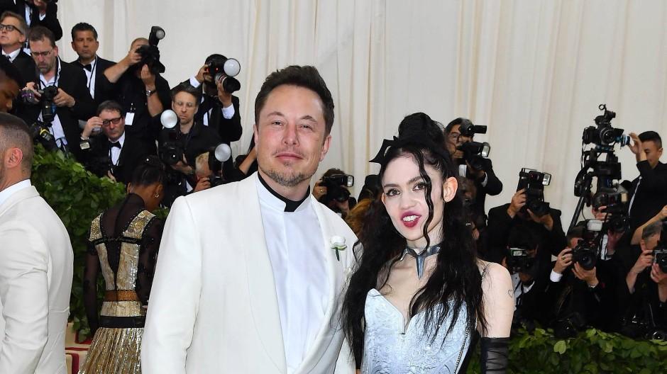 Das seltsamste Paar der Welt: Elon Musk und Grimes im Mai 2018 auf der Gala des Metropolitan Museum of Art in New York