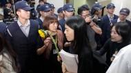 Parlamentsbesetzung in Taiwan endet friedlich